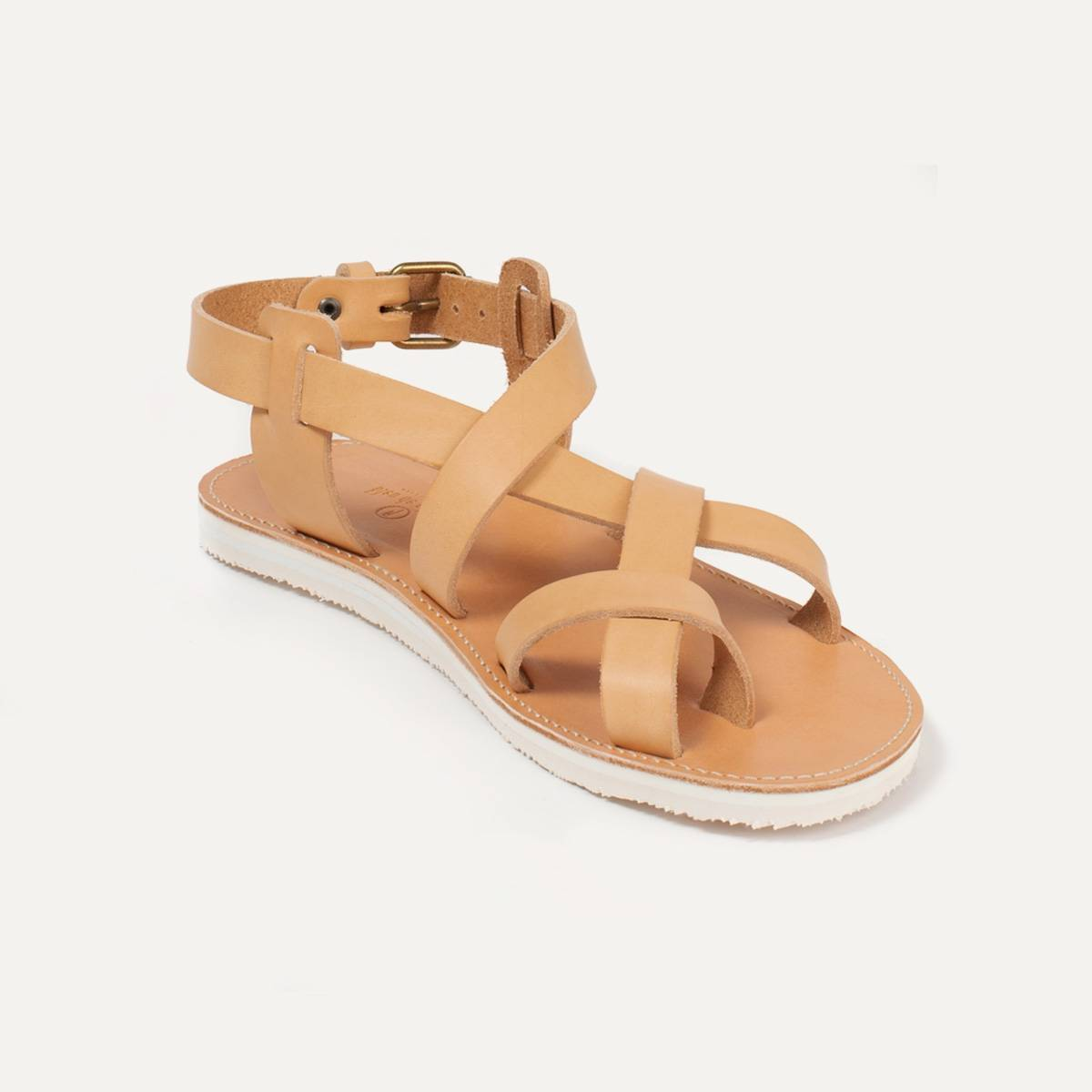 Lhassa leather sandals - Natural (image n°2)