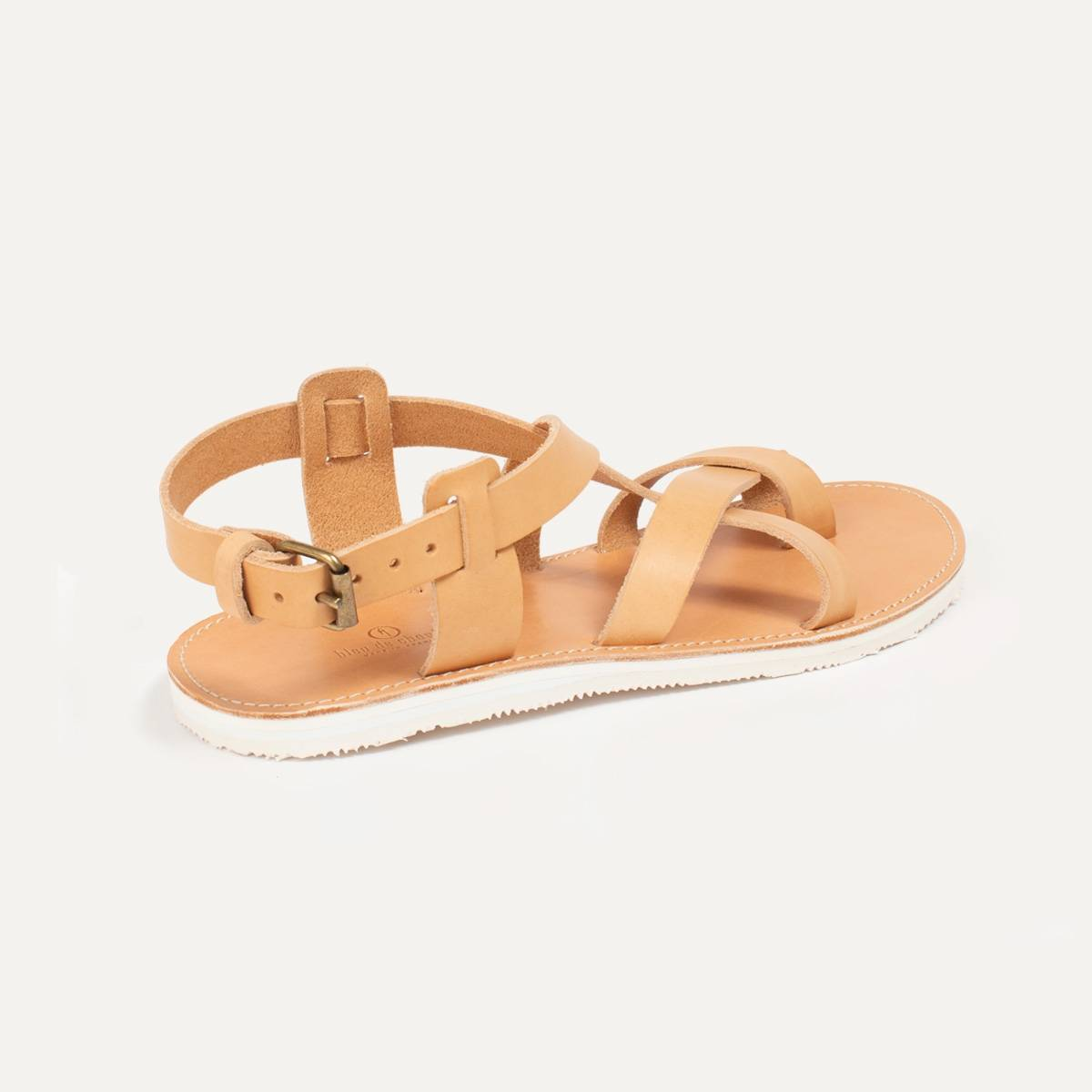 Lhassa leather sandals - Natural (image n°3)
