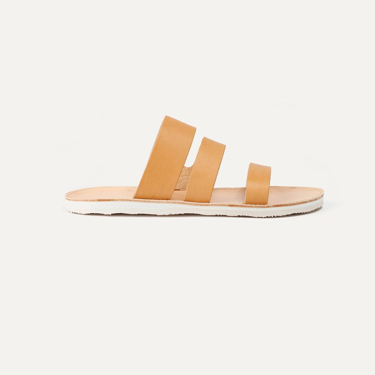 Athos leather sandals - Natural (image n°2)