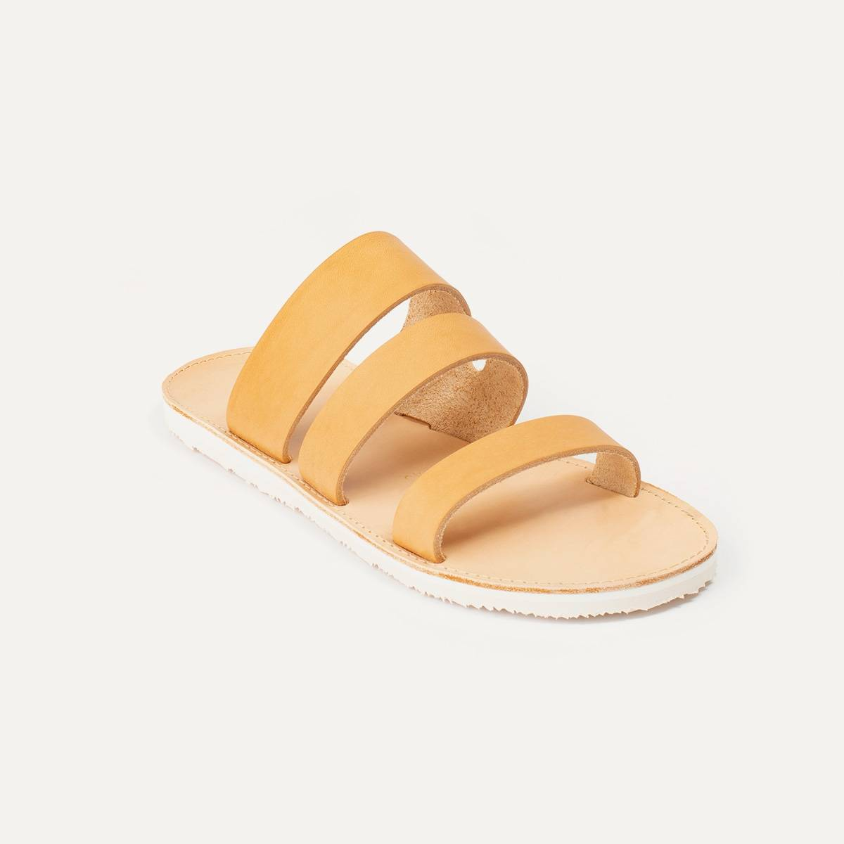 Athos leather sandals - Natural (image n°3)