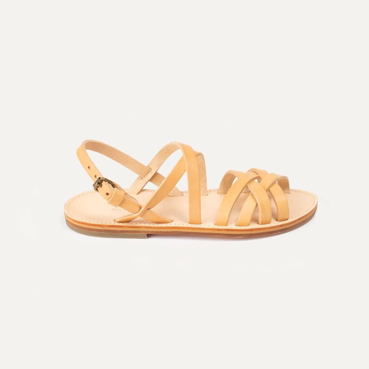 Majour leather sandals - Natural (image n°5)