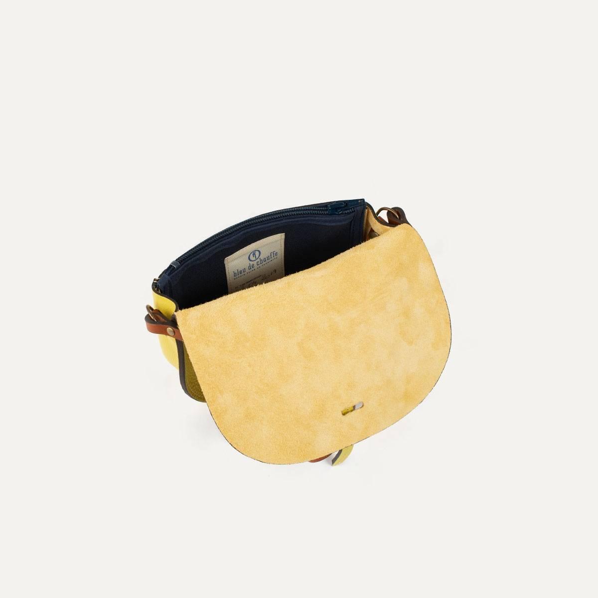 Java mini Postman bag - Yellow (image n°7)