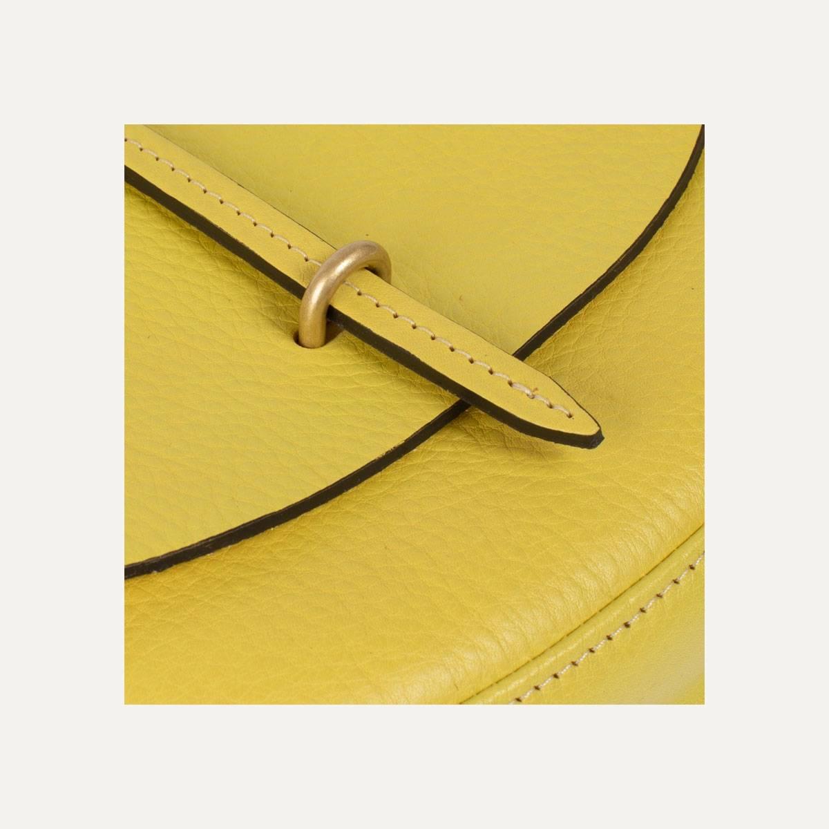 Java mini Postman bag - Yellow (image n°8)