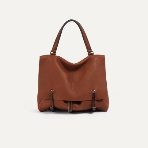 Colette leather satchel - Cuba Libre