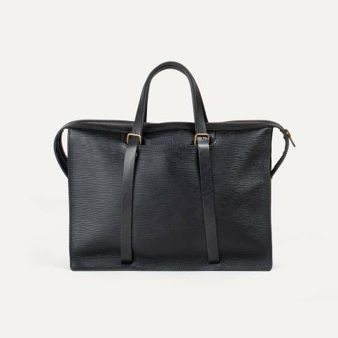 Jupiter briefcase - Peeble black