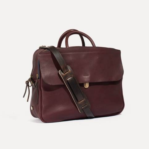 Zeppo Business bag - Peat / E Pure