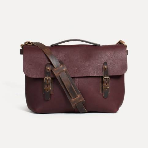 Sac besace Lucien - Tourbe