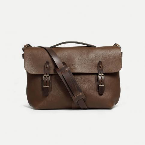 Lucien Satchel bag - Brown
