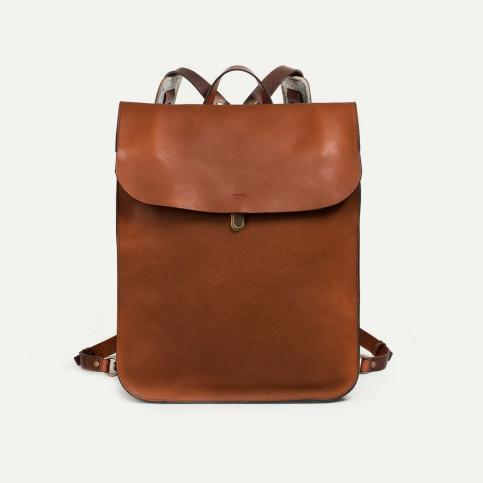 Arlo leather backpack - Pain Brûlé