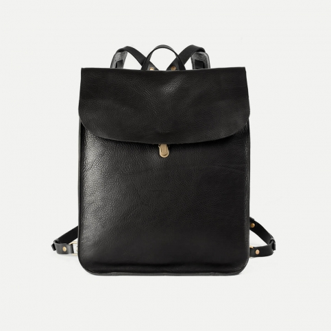 Arlo leather backpack - Black