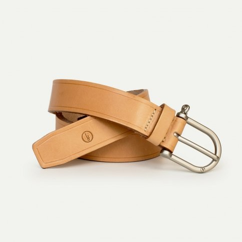 Manille Belt - Natural / Silver