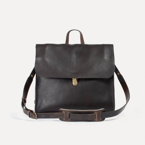 Chico Leather Satchel - T Moro / E Pure