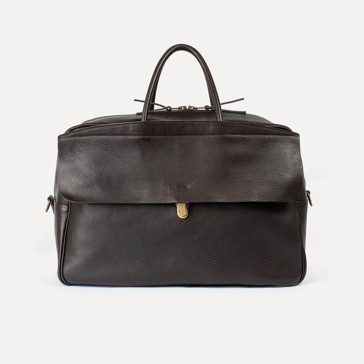 Gummo travel bag - Dark Brown / E Pure (image n°1)