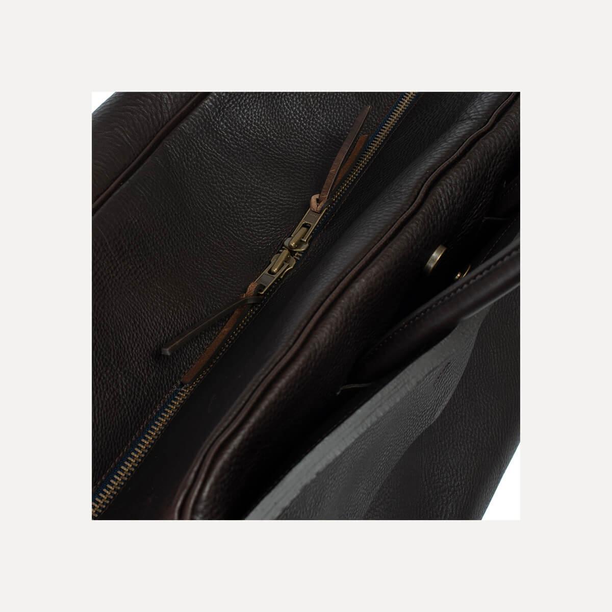 Gummo travel bag - Dark Brown / E Pure (image n°6)