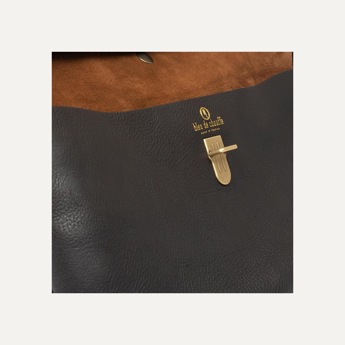 Gummo travel bag - Dark Brown / E Pure (image n°7)