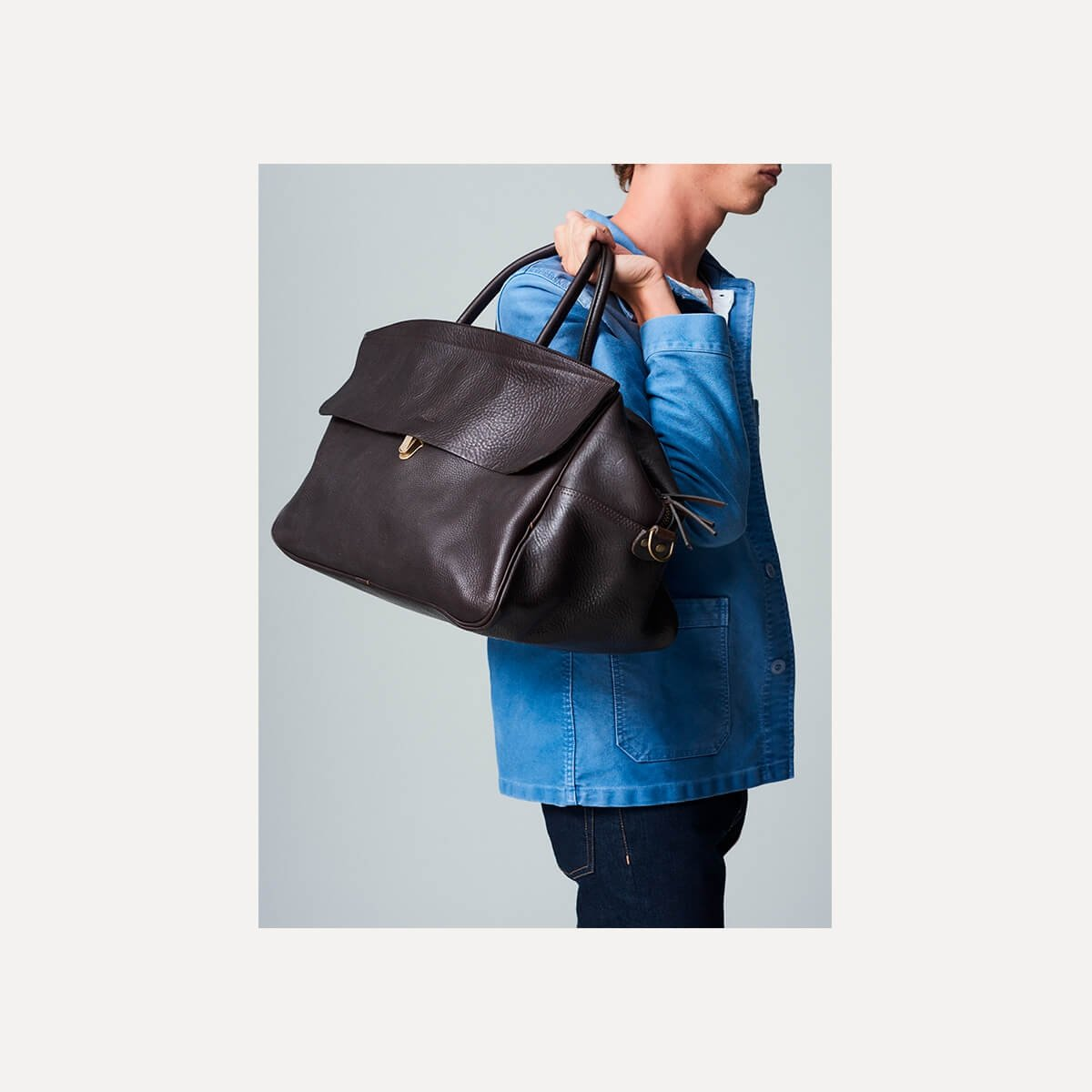 Gummo travel bag - Dark Brown / E Pure (image n°9)