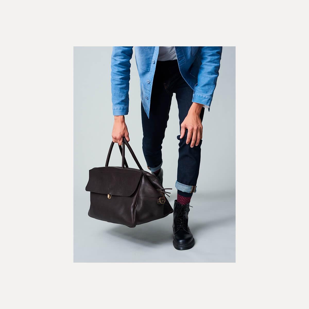 Gummo travel bag - Dark Brown / E Pure (image n°10)