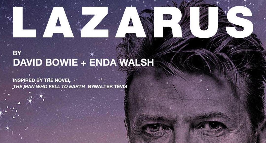 David Amsterdam à cette Bowie automne de Lazarus