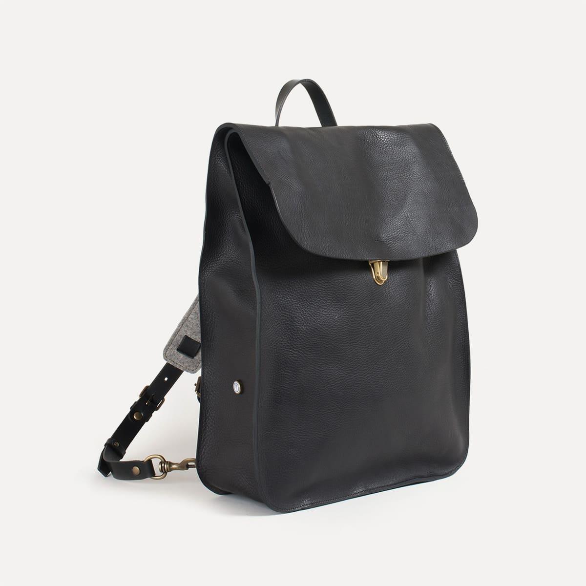 Arlo leather backpack I Vintage Rucksack  7dfba2fb94715