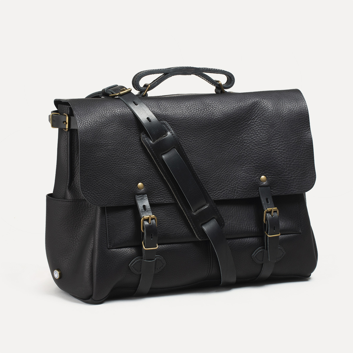 8f972dbb7c Sac Postier Irving 48H I Sac cartable cuir Homme Made in France ...