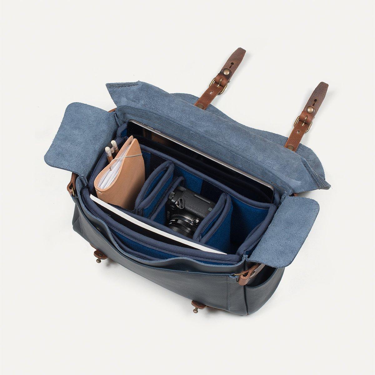 sac photo bologne olympus x bleu de chauffe bleu de. Black Bedroom Furniture Sets. Home Design Ideas