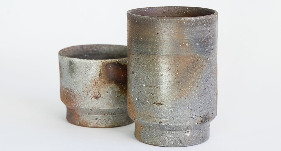 The making: Bizen-Yaki cups of Asemi Co. Japan