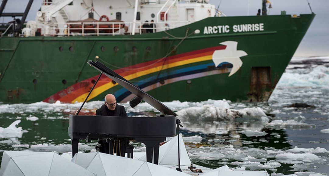Ludovico Einaudi for Greenpeace