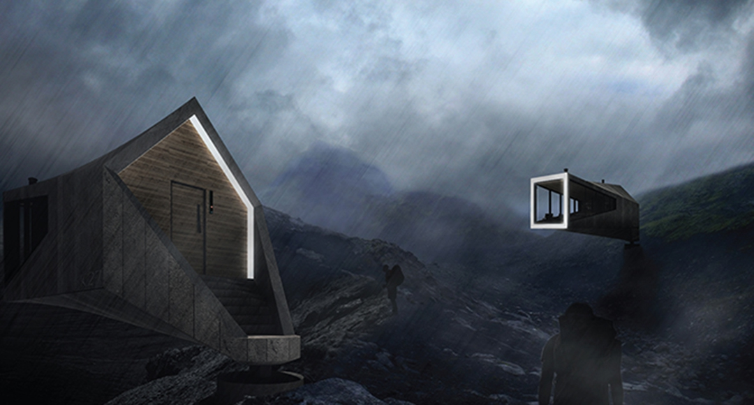Trekking cabins for remote Icelandic highlands